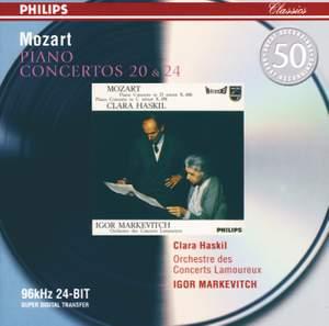 Mozart: Piano Concertos Nos. 20 & 24 Product Image