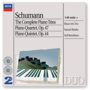 Schumann: The Complete Piano Trios