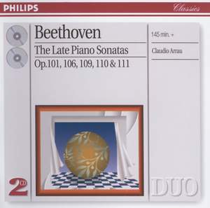 Beethoven: The Late Piano Sonatas Product Image