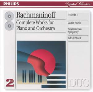 Rachmaninoff - Complete Works for Piano and Orchestra