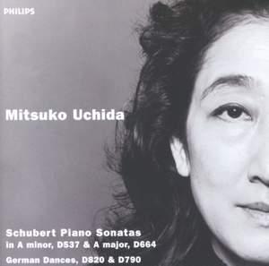 Schubert: Piano Sonatas Nos 4 & 13 Product Image