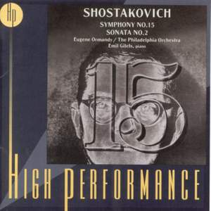Shostakovich: Symphony No. 15 in A major, Op. 141, etc.