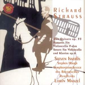 Strauss, R: Romance for cello & orchestra in F major, AV 75, etc.