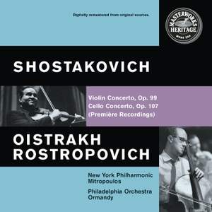 Shostakovich: Cello Concerto No. 1 & Violin Concerto No. 1