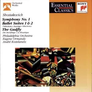 Shostakovich: Symphony No. 1 in F minor, Op. 10, etc.