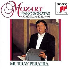 Mozart: Piano Sonatas Nos. 8, 11 & 15