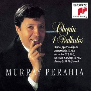 Chopin: 4 Ballades Product Image