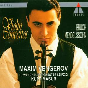 Bruch: Violin Concerto No. 1 in G minor, Op. 26, etc.