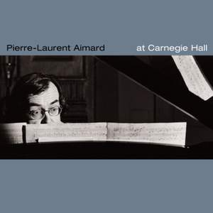 Pierre-Laurent Aimard at Carnegie Hall Product Image