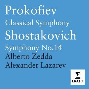 Prokofiev: Symphony No. 1 in D major, Op. 25 'Classical', etc.
