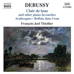 Debussy - Clair de lune and other piano favourites Product Image