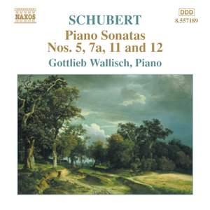 Schubert - Piano Sonatas Nos. 5, 7a, 11 & 12