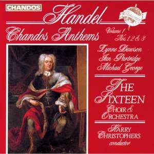Handel - Chandos Anthems Volume 1