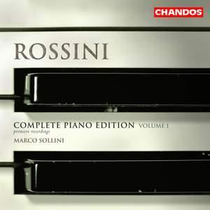 Rossini - Complete Piano Edition Volume 1