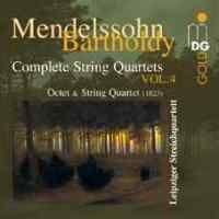 Mendelssohn - Complete String Quartets Volume 4