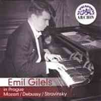 Emil Gilels in Prague