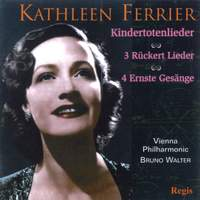 Mahler: Kindertotenlieder and 3 Rückert Lieder and Brahms: Vier ernste Gesänge