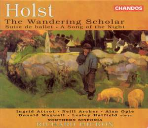Holst: The Wandering Scholar Product Image