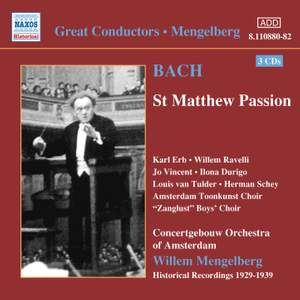 Great Conductors - Mendelberg Product Image