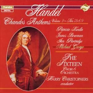 Handel - Chandos Anthems Volume 3