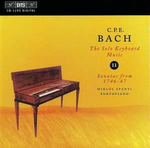 C P E Bach - Solo Keyboard Music Volume 11