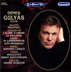 Great Hungarian Voices: Tenor Arias