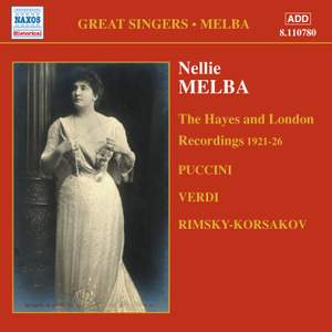Great Singers - Melba Product Image