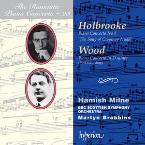 The Romantic Piano Concerto 23 - Holbrooke and Wood Product Image