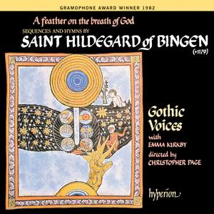 Abbess Hildegard of Bingen - A feather on the breath of God