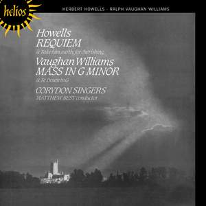 Howells: Requiem & Vaughan Williams: Mass in G minor Product Image