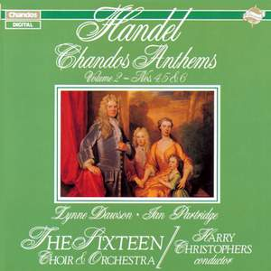 Handel - Chandos Anthems Volume 2