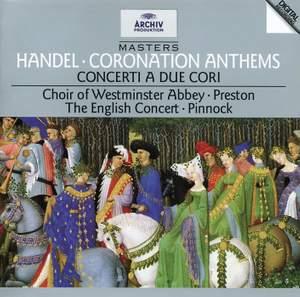 Handel: Coronation Anthems Nos. 1-4, etc. Product Image