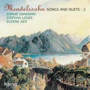 Mendelssohn - Songs & Duets Volume 2