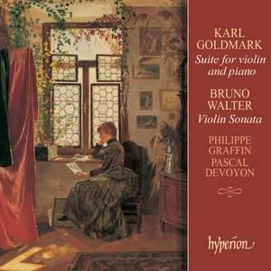 Goldmark & Walter: Violin Sonatas