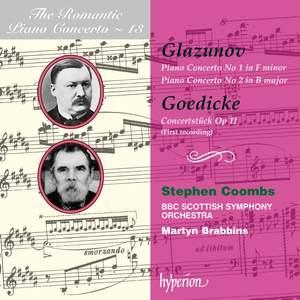 The Romantic Piano Concerto 13 - Glazunov and Goedicke Product Image