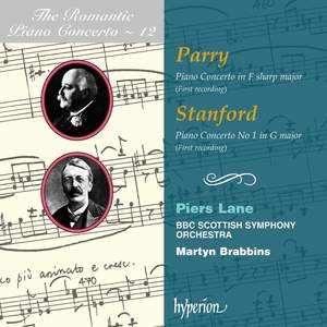 The Romantic Piano Concerto 12 - Parry and Stanford Product Image