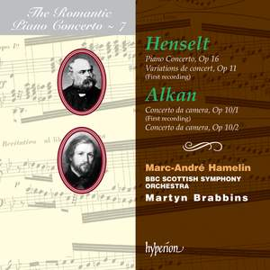 The Romantic Piano Concerto 7 - Alkan and Henselt