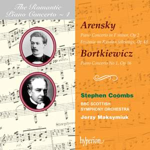 The Romantic Piano Concerto 4 - Arensky and Bortkiewiez Product Image