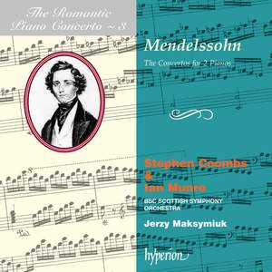 The Romantic Piano Concerto 3 - Mendelssohn Double Concertos Product Image