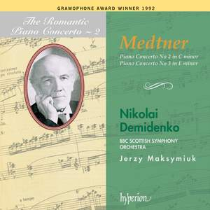 The Romantic Piano Concerto 2 - Medtner Product Image