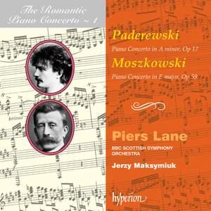 The Romantic Piano Concerto 1 - Moszkowski and Paderewski