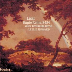 Liszt Complete Music for Solo Piano 16: Bunte Reihe