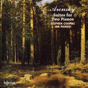 Arensky: Suites for Two Pianos Product Image