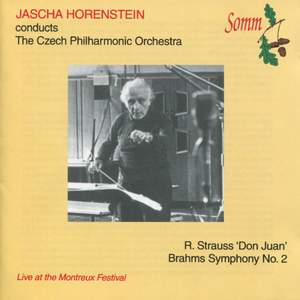Jascha Horenstein conducts The Czech Philharmonic Orchestra