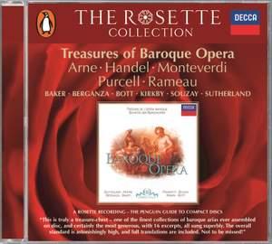 Treasures of Baroque Opera Product Image