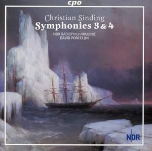 Sinding: Symphonies Nos. 3 & 4