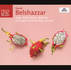 Handel: Belshazzar Product Image
