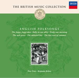 Britten: English Folk Songs: selections