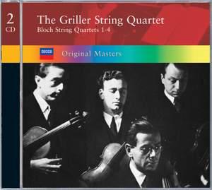 Bloch, E: String Quartets 1-4