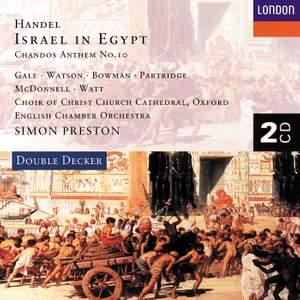 Handel: Israel in Egypt, HWV54, etc.